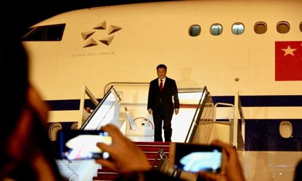 La Chine et le Brunei reclassent leur relation en partenariat de cooperation strategique hinh anh 1
