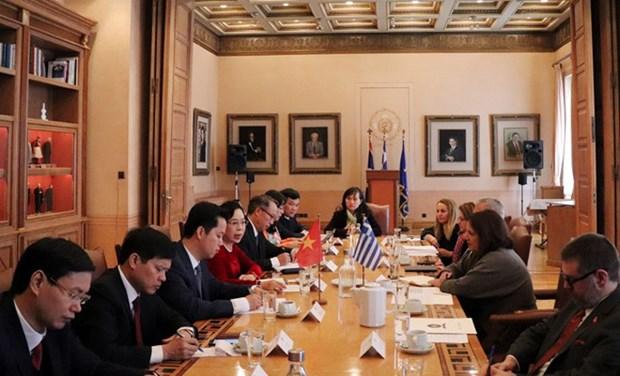 Hanoi-Athenes : promotion de la cooperation culturelle, touristique et commerciale hinh anh 1