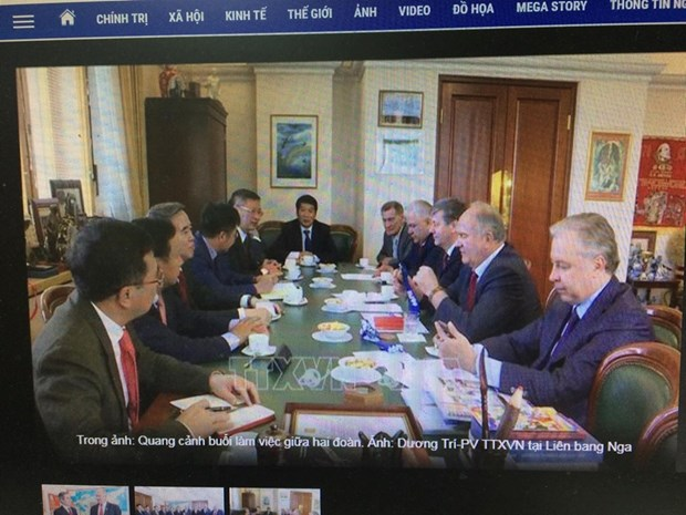 Le Vietnam et la Russie resserrent la cooperation entre les deux Partis communistes hinh anh 1