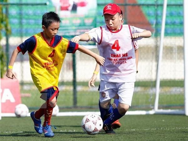 Premier tournoi de football pour enfants defavorises prevu en 2019 hinh anh 1