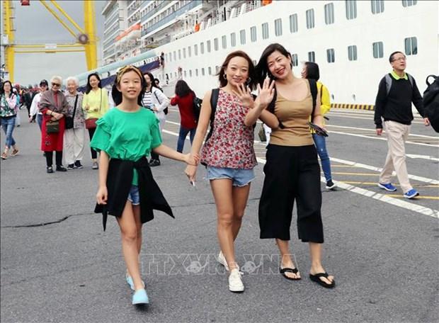 Plus de 2 000 croisieristes arrivent a Da Nang le premier jour de l'An hinh anh 1
