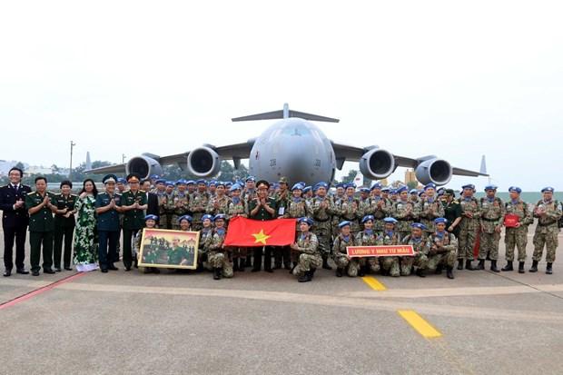 La force de maintien de la paix du Vietnam, empreinte de la diplomatie de defense du pays hinh anh 1