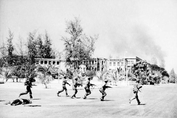 Celebration de la victoire de la defense de la frontiere du Sud-Ouest a Binh Phuoc hinh anh 1