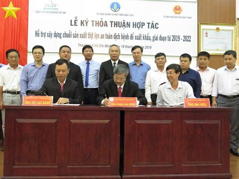 Binh Thuan et GreenFeed cooperent dans la production porcine hinh anh 1