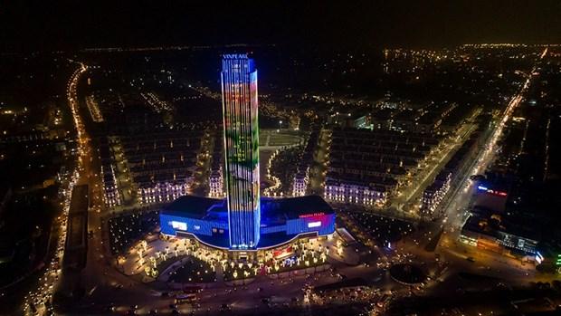 Le complexe commercial et hotelier le plus haut du Nord-Est inaugure hinh anh 1