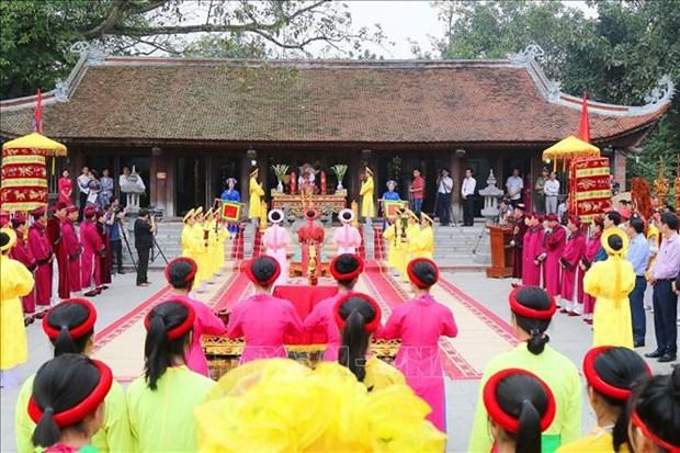 Phu Tho rend hommage a Au Co, la mere de la nation vietnamienne hinh anh 1