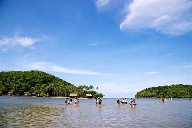 Les sites touristiques a Kien Giang attirent de nombreux visiteurs hinh anh 1
