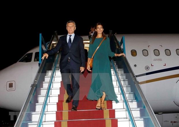 Le president argentin entame sa visite d'Etat au Vietnam hinh anh 1