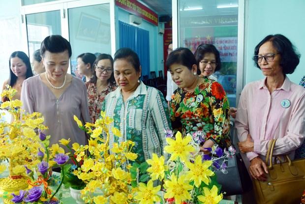 Les femmes vietnamiennes et cambodgiennes promeuvent la solidarite hinh anh 1