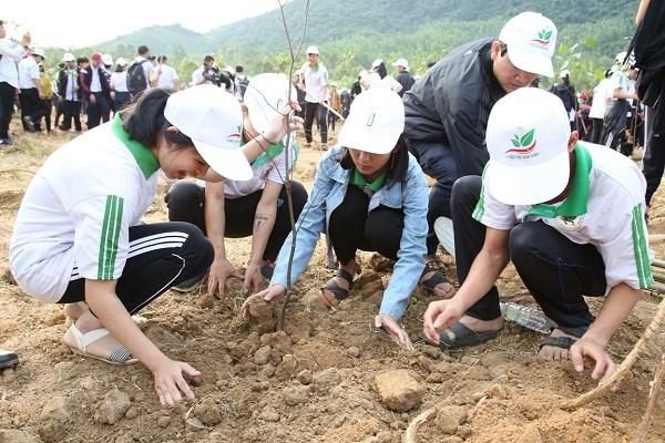Lancement du Mois des jeunes 2019 a Binh Dinh hinh anh 1