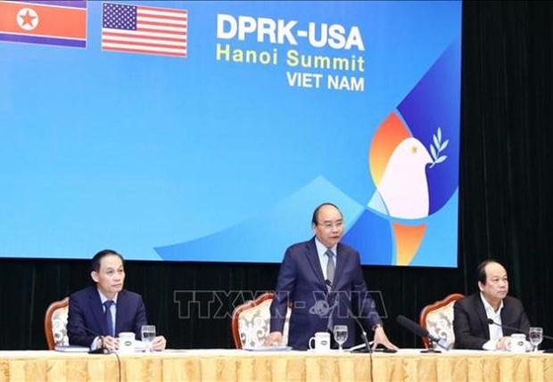 L'organisation du 2e Sommet Etats-Unis – RPDC confirme la position grandissante du Vietnam hinh anh 1