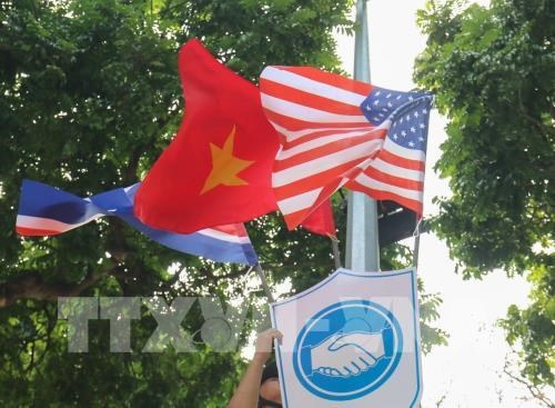 Sommet Etats-Unis – RPDC a Hanoi : impressions des Hanoiens et des visiteurs hinh anh 1