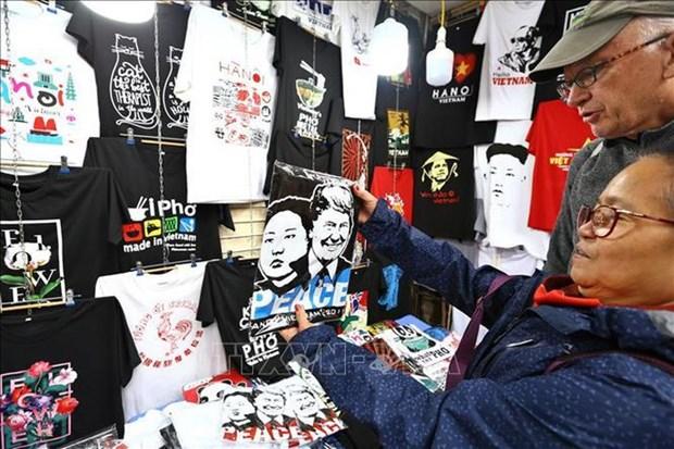 Sommet Etats-Unis – RPDC est une bonne occasion pour les affaires de boutiques a Hanoi hinh anh 1