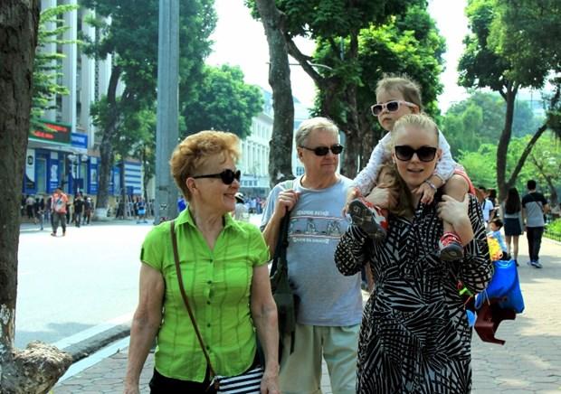 Le Vietnam accueille un nombre record de visiteurs etrangers en ce mois de fevrier hinh anh 1