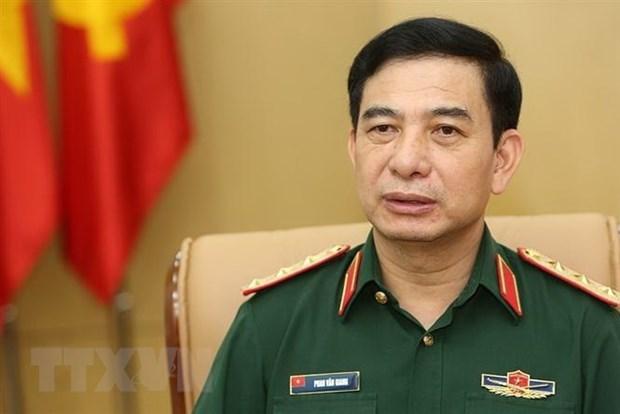 Une delegation de l'Armee populaire du Vietnam en visite officielle a Singapour hinh anh 1