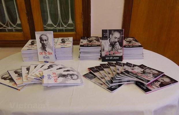 Presentation d'un livre sur la biographie du President Ho Chi Minh au Bangladesh hinh anh 1