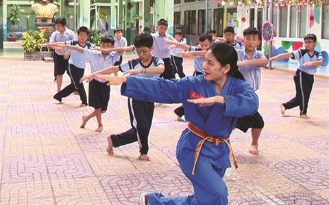 A Ho Chi Minh-Ville, le Vovinam fait ses classes hinh anh 1