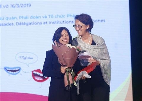 La Journee internationale de la Francophonie 2019 fetee a Hanoi hinh anh 3