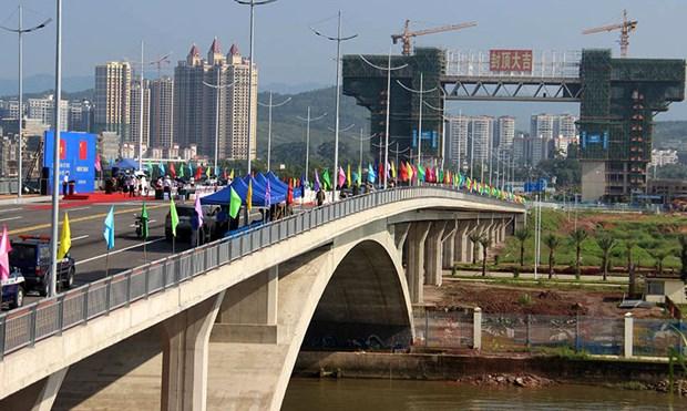 Le transport des marchandises autorise sur le pont Bac Luan II a Quang Ninh hinh anh 1