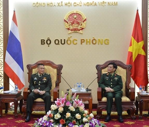 Vietnam et Thailande renforcent leur cooperation dans la defense hinh anh 1
