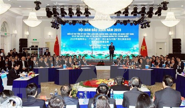 Renforcer la cooperation entre les provinces vietnamiennes et la region autonome Zhuang du Guangxi hinh anh 1
