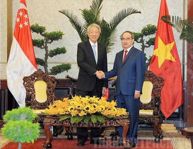Ho Chi Minh-Ville et Singapour renforcent leur cooperation hinh anh 1