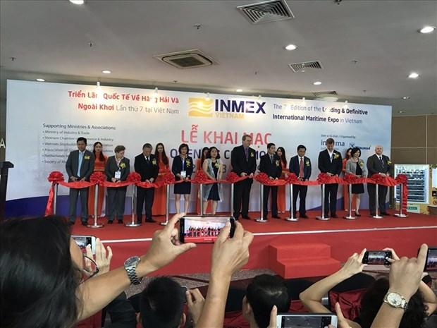 Ouverture de l'exposition sur l'industrie maritime INMEX Vietnam 2019 hinh anh 1