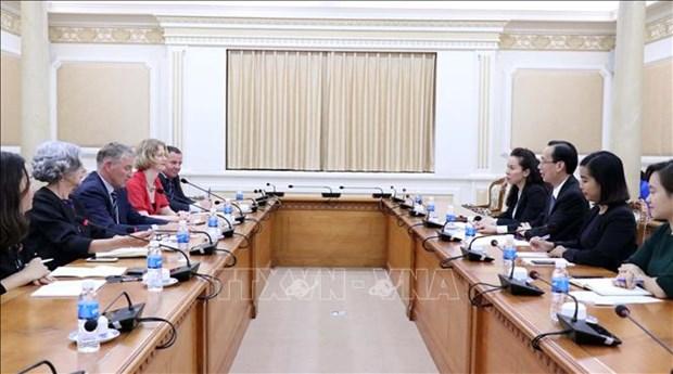 Commerce et investissement: Ho Chi Minh-Ville et la Nouvelle-Zelande renforcent leur cooperation hinh anh 1