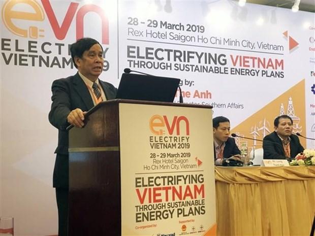 Le Vietnam realise pres de 99% d'electrification hinh anh 1