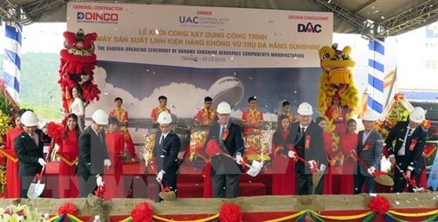 Mise en chantier de la premiere usine de composants aerospatiaux au Vietnam hinh anh 1