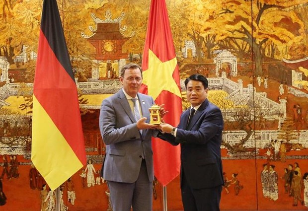 Hanoi et l'Etat libre de Thuringe (Allemagne) promeuvent leur cooperation hinh anh 1