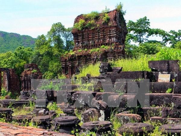 Le groupe des tours K au sanctuaire de My Son a Quang Nam connait un coup de lifting hinh anh 1
