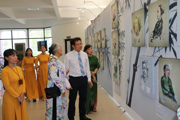 Deux expositions s'ouvrent a Thua Thien-Hue hinh anh 2