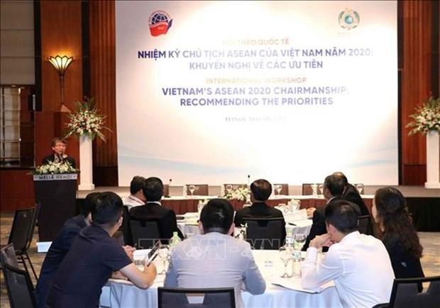 Seminaire sur le mandat de la presidence vietnamienne de l'ASEAN en 2020 hinh anh 1