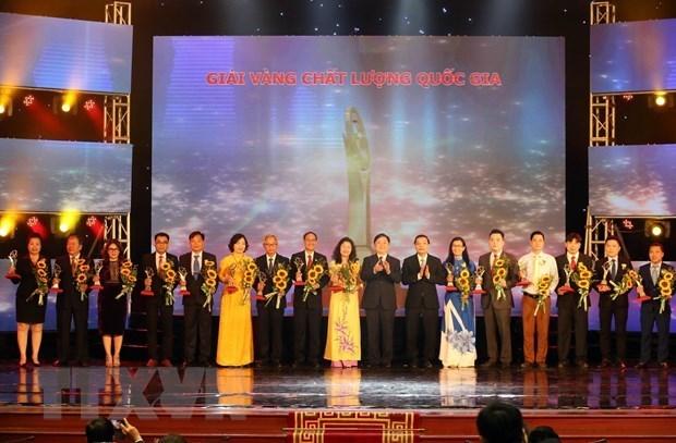 Le Prix national de la qualite aux 75 entreprises hinh anh 1