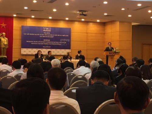 Promotion commerciale et d'investissement entre le Vietnam et ses partenaires strategiques hinh anh 1