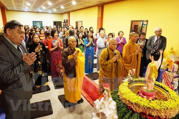 Des Vietnamiens en Republique tcheque fetent le Vesak hinh anh 1