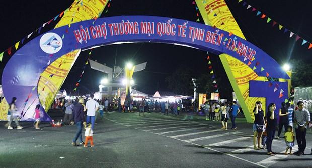 Ouverture de la foire commerciale internationale Tinh Bien-An Giang 2019 hinh anh 1