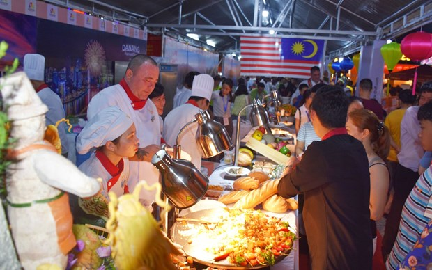 Ouverture de la fete gastronomique internationale de Da Nang 2019 hinh anh 1
