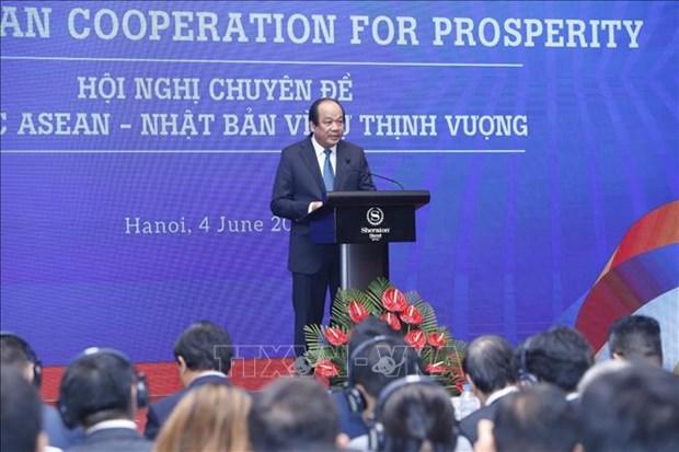 La conference thematique de la cooperation ASEAN-Japon pour la prosperite s'ouvre a Hanoi hinh anh 1