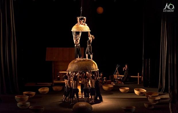 Un spectacle de cirque et de danse du Vietnam fait salle comble a l'Opera House de Sydney hinh anh 1