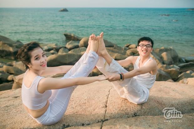 Yoga pour la vie verte, theme de la Journee internationale du yoga 2019 hinh anh 1