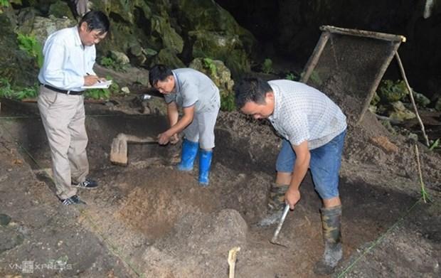 Des archeologues decouvrent un site datant d'environ 8.000 -9.000 ans a Bac Kan hinh anh 1