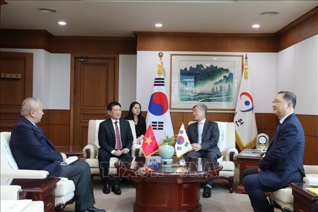 Vietnam et R. de Coree promeuvent leur cooperation dans l'audit hinh anh 1
