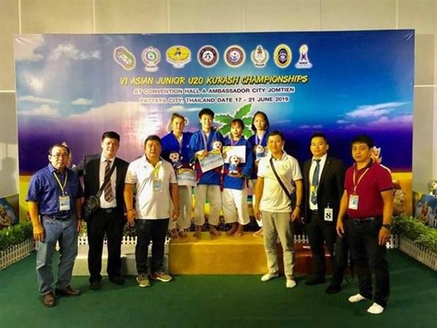 Le Vietnam remporte deux medailles d'or en kourach en Thailande hinh anh 1