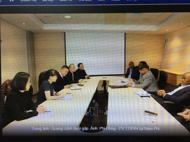 Le Vietnam et l'Afrique du Sud discutent de l'elaboration d'un accord de libre-echange hinh anh 1