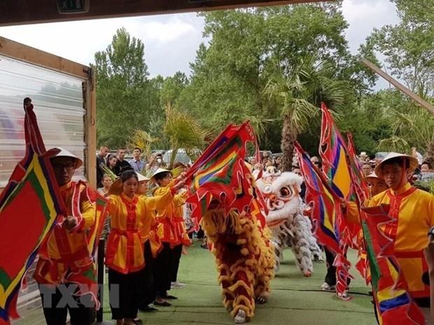 La culture vietnamienne presentee a Lyon hinh anh 1