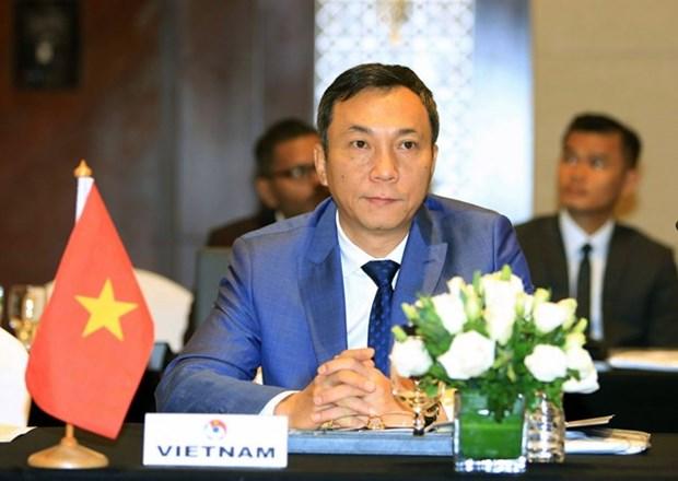 Le vice-president permanent de FVF nomme president du Comite des competitions de l'AFC hinh anh 1