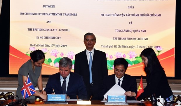 Ho Chi Minh-Ville et le Royaume-Uni cooperent dans l'edification d'une ville intelligente hinh anh 1