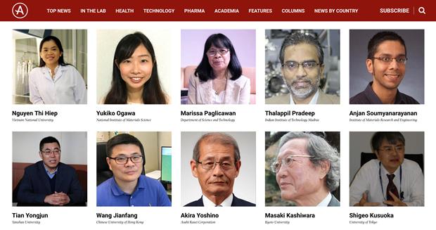 Deux Vietnamiens honores dans la liste des 100 meilleurs scientifiques asiatiques hinh anh 2